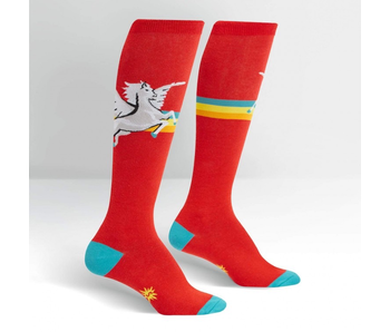 Sock It To Me Stretch-It Knee High: Retro Pegasus