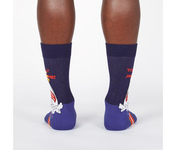 Sock It To Me Men's Crew: Totally Jawsome!