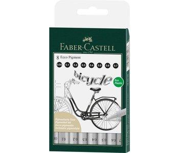 Faber Castell Ecco 8 Pigment Pens