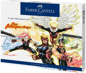 Faber-Castell Pitt Artist Pen Comic Illustration Set