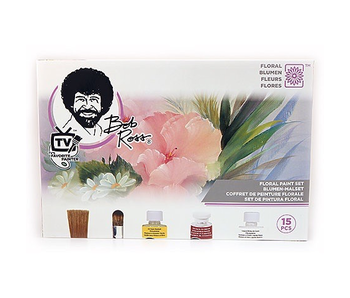 BOB ROSS FLOWER PAINT SET