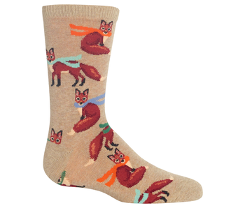 HOTSOX FOXES IN SCARVES