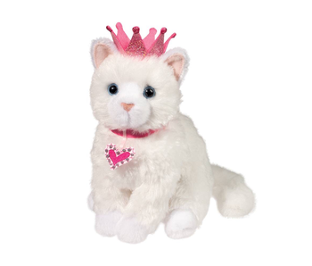 DOUGLAS CUDDLE TOY PLUSH Duchess White Cat