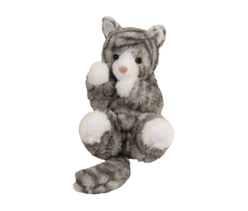 DOUGLAS CUDDLE TOY PLUSH Reb Gray Cat