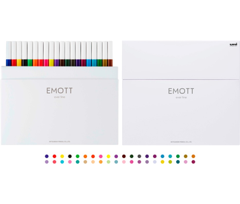 EMOTT - 0.4 mm Fine Color Liner 40 Count