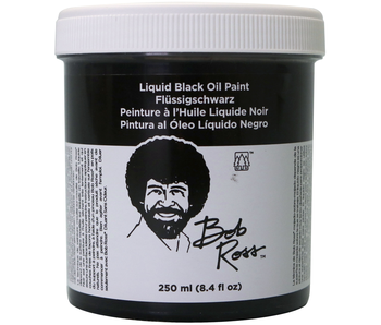 Bob Ross Oil 250 ml Liquid Black