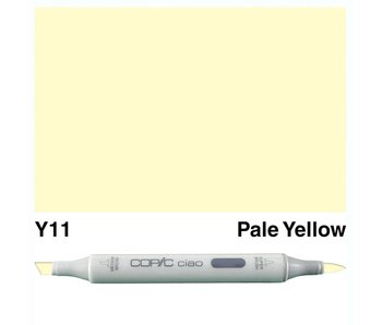 COPIC CIAO Y11 Pale YELLOW