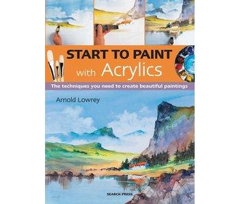 START TO Paint Acrylic