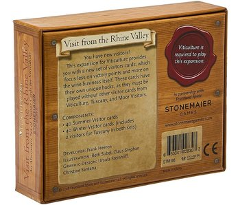 VITICULTURE EXP: VISIT FROM THE RHINE VALLEY - ALTERNATIVE SET OF VISITOR CARDS