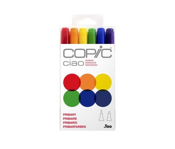 COPIC CIAO MARKER PRIMARY SET