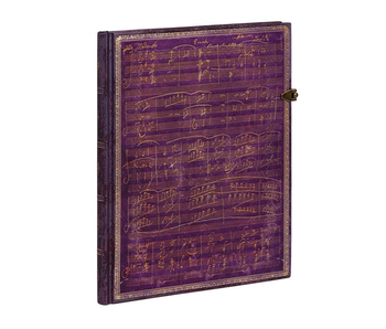"""PaperBlanks Journal 7x9"""" Lined HC Ultra Beethoven's 250th Birthday"""
