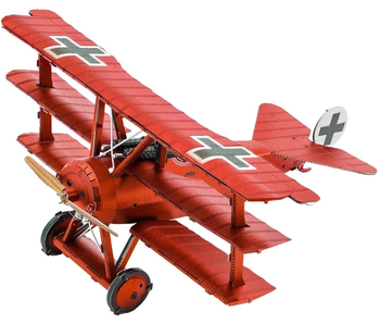 Metal Earth 3D Model : Iconx Fokker Dr. I Triplane