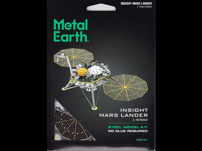 Metal Earth 3D Model: Insight Mars Lander