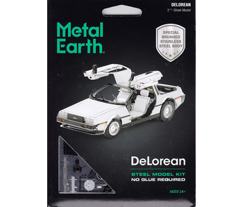 Metal Earth 3D Model: DeLorean Steel Model Kit