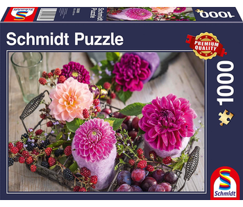 SCHMIDT PUZZLE 1000: BERRIES AND FLOWERS