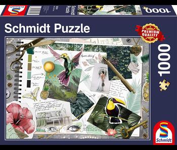 SCHMIDT PUZZLE 1000: MOODBOARD