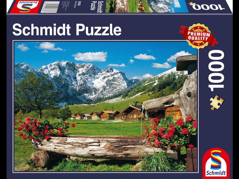 SCHMIDT PUZZLE 1000: MOUNTAIN PARADISE