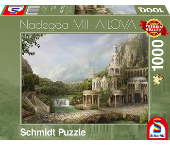 SCHMIDT PUZZLE 1000: NADEGDA MIHAILOVA - MOUNTAIN PALACE