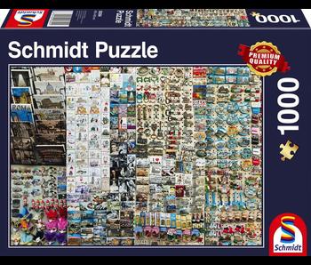 SCHMIDT PUZZLE 1000: SOUVENIR STAND