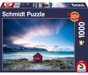 SCHMIDT PUZZLE 1000: HUT ON THE ATLANTIC COAST
