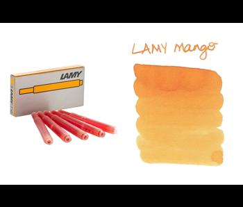 Lamy Calligraphy Ink Cartridge 5Pk Mango
