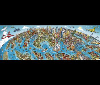 SCHMIDT PUZZLE 1000 PANORAMA: HARTWIG BRAUN - SYDNEY