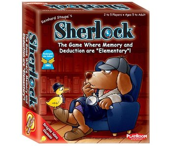 SHERLOCK: THE GAME WHERE MEMORY AND DEDUCTION ARE  ELEMENTARY