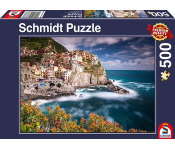 SCHMIDT PUZZLE 500: MANOROLA, CINQUE TERRE, ITALY