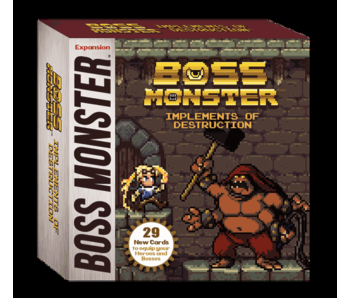 BOSS MONSTER EXPANSION:  IMPLEMENTS OF DESTRUCTION 2-6 PLAYER EXP