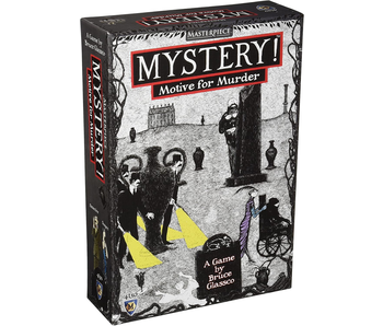 MASTERPIECE MYSTERY! MOTIVE FOR MURDER - ART BY EDWARD GOREY