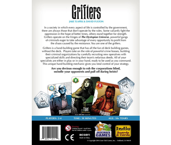 GRIFTERS BOARD GAME