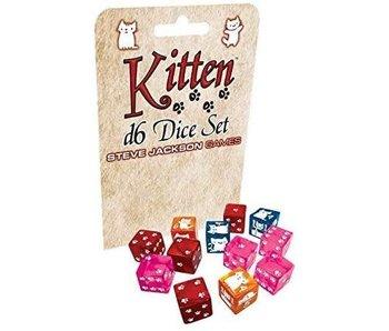 KITTEN D6 DICE SET
