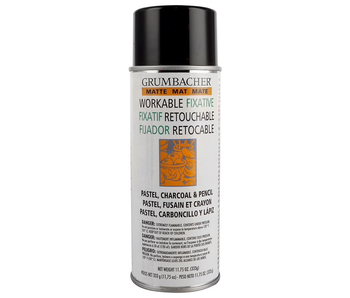 Grumbacher Workable Fixative Matte 11.75OZ