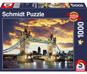 Schmidt Puzzle 1000 Tower Bridge London