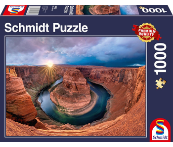 Schmidt Puzzle 1000 Glen Canyon Horseshoe Bend