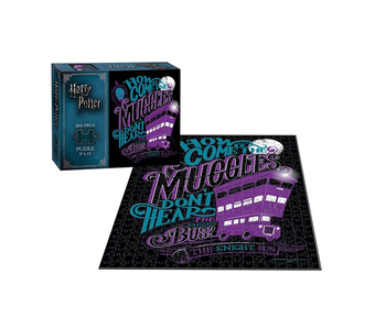 Harry Potter Puzzle 200 How Come the Muggles Don't Hear the Knight Bus?