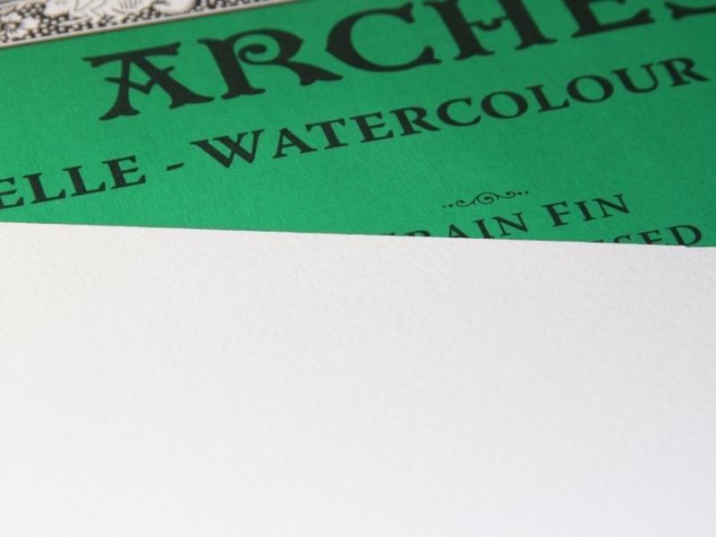 "ARCHES® Watercolour Cold Press 16x20""140lb 10 sheet pack"