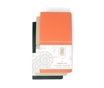 Ferris Wheel Press Nothing Left Notebook Pebble Grey 215mm x 105mm