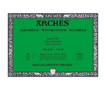 Arches Watercolour Block Cold Pressed 140LB 14X20 20SH