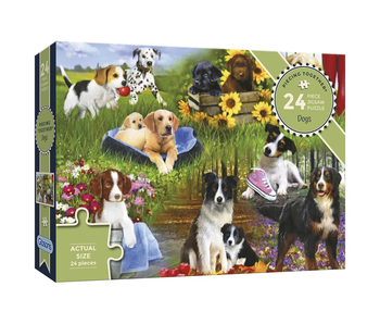 Gibsons Puzzle 24 XL Piece Dogs