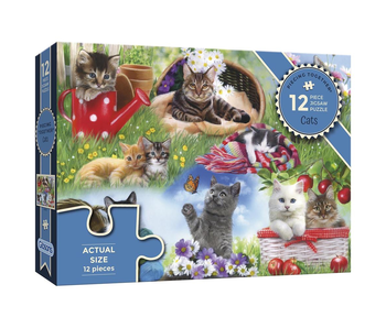 Gibsons Puzzle 12 Piece Cats