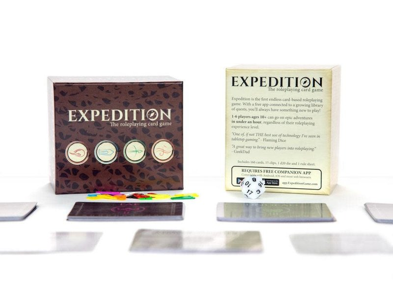 Expedition: The Role Playing Card Game
