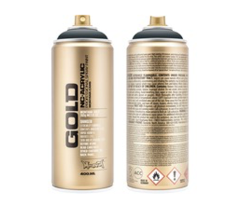 MONTANA GOLD SPRAY PAINT 400ML STEALTH