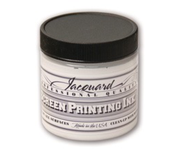 JACQUARD PROFESSIONAL SCREEN PRINTING INK 4OZ OPAQUE WHITE