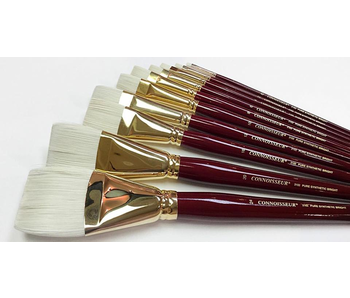 CONNOISSEUR PURE SYNTHETIC LH BRUSH BRIGHT #10