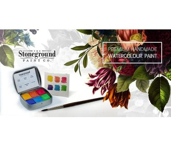 STONEGROUND PAINT SMALL PEARLESCENT PALETTE