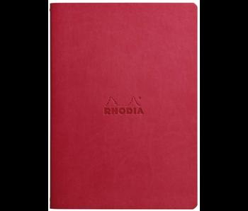 RHODIA RHODIARAMA SEWN SPINE NOTEBOOK DOT 5.5x8.5 POPPY