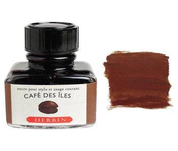 J. HERBIN FOUNTAIN INK COFFEE CAFÉ DES ILES