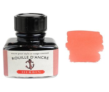 J. HERBIN FOUNTAIN INK ANCHOR RUST ROUILLE D'ANCRE