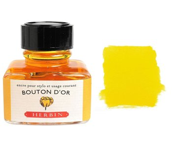"J. HERBIN FOUNTAIN INK BUTTERCUP BOUTON D""OR"